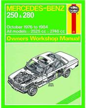 Mercedes Benz 250 & 280 W123 Series 1976 - 1984