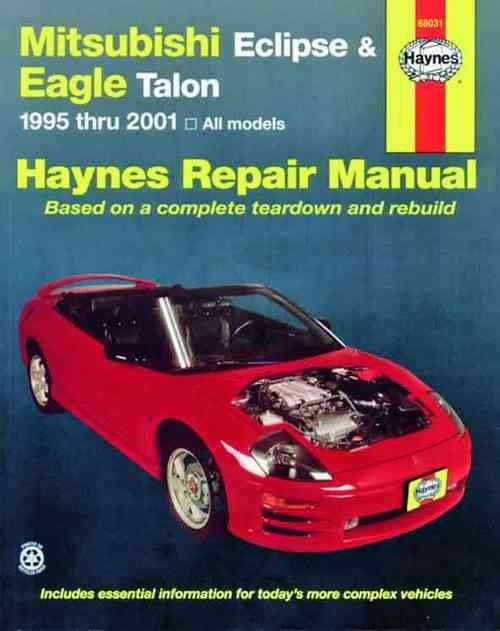 Mitsubishi Eclipse & Eagle Talon (Galant) 1995 - 2001 - Front Cover