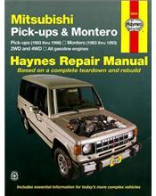 Mitsubishi Pickup Trucks & Montero 2WD & 4WD 1983 - 1996