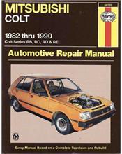 Mitsubishi Colt (RB, RC, RD & RE) 1982 - 1990