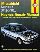 Mitsubishi Lancer CB & CC 1990 - 1996 Haynes Owners Service & Repair Manual