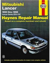 Mitsubishi Lancer CB & CC 1990 - 1996 Haynes Owners Service & Repair Manual