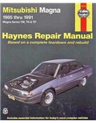 Mitsubishi Magna TM TN & TP 1985 - 1991 Haynes Owners Service & Repair Manual