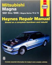 Mitsubishi Magna TR & TS 1991 - 1996 Haynes Owners Service & Repair Manual