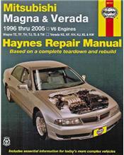 Mitsubishi Magna & Verada 1996 - 2005 Haynes Owners Service & Repair Manual