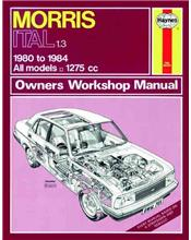 Morris Ital 1.3 1980 - 1984 Haynes Owners Service & Repair Manual