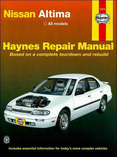 Nissan Altima Bluebird 1993 - 2004 Haynes Owners Service & Repair Manual