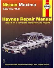 Nissan Maxima 1985 - 1992 Haynes Owners Service & Repair Manual