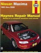 Nissan Maxima A32 / A33 1993 - 2008 Haynes Owners Service & Repair Manual - Front Cover