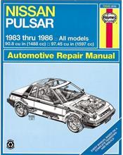 Nissan Pulsar N12 1983 - 1986 Haynes Owners Service & Repair Manual