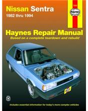 Nissan Sentra 1982 - 1994 Haynes Owners Service & Repair Manual