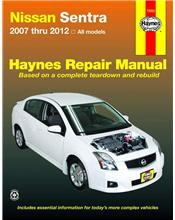 Nissan Sentra 2007 - 2012 Haynes Owners Service & Repair Manual