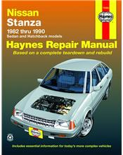 Nissan Stanza 1982 - 1990 Haynes Owners Service & Repair Manual