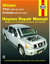 Nissan Titan & Armada 2004 - 2014 Haynes Owners Service & Repair Manual