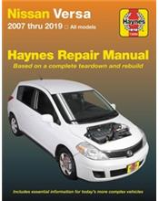 Nissan Versa (Tiida) 2007 - 2014 Haynes Owners Service & Repair Manual