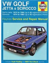 VW Volkswagen Golf (Mk I), Jetta & Scirocco 1974 - 1984
