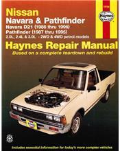 Nissan Navara D21 & Pathfinder 1986 - 1996 Haynes Owners Service & Repair Manual