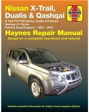 Nissan X-Trail, Dualis,Qashqai (Petrol and Diesel) 2007 - 2018