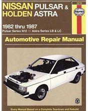 Nissan Pulsar N12 & Holden Astra LB & LC 1982 - 1987