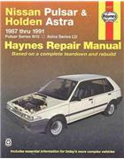 Nissan Pulsar N13 & Holden Astra LD 1987 - 1991 - Front Cover