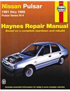 Nissan Pulsar N14 1991 - 1995 Haynes Owners Service & Repair Manual