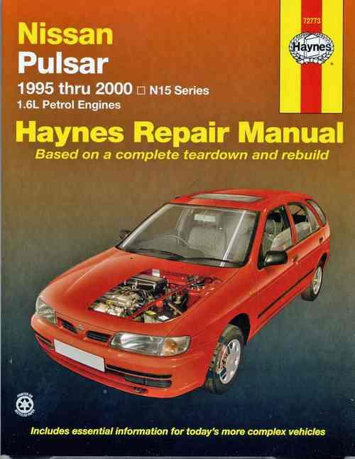 Nissan Pulsar N15 1995 - 2000 Haynes Owners Service & Repair Manual