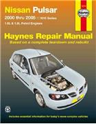 Nissan Pulsar N16 2000 - 2005 Haynes Owners Service & Repair Manual