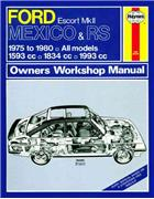 Ford Escort Mk 2 Mexico, RS 1600 & RS 2000 1975 - 1980