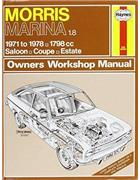 Morris Marina 1.8 Haynes Owners Service & Repair Manual