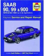 Saab 90, 99 & 900 1979 - 1993 Haynes Owners Service & Repair Manual