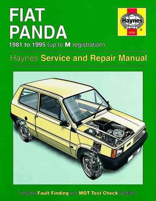 Fiat Panda 1981 - 1995 Haynes Owners Service & Repair Manual