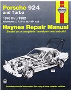 Porsche 924 & 924 Turbo 1976 - 1982 Haynes Owners Service & Repair Manual - Front Cover