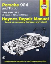 Porsche 924 & 924 Turbo 1976 - 1982 Haynes Owners Service & Repair Manual