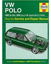 Volkswagen Polo 1982 - 1990 Haynes Service and Repair Manual