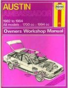 Austin Ambassador 1982 - 1984 Haynes Owners Service & Repair Manual