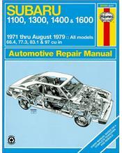Subaru 1100, 1300, 1400, 1600, 4WD, MPV & Brat (Petrol) 1971 - 1979