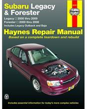 Subaru Legacy (Liberty) & Forester (Petrol) 2000 - 2009