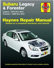 Subaru Liberty / Forester 2009 - 2016 Haynes Owners Service & Repair Manual