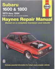 Subaru 1600 & 1800 1979 - 1994 Haynes Owners Service & Repair Manual
