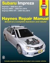 Subaru Impreza, Impreza WRX & Impreza WRX STI (Petrol) 2002 - 2014