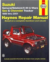 Suzuki Samurai, Sidekick, X-90 & Vitara (Petrol) 1986 - 2001