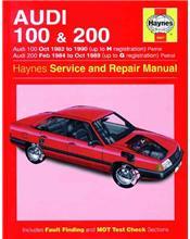 Audi 100 & 200 1982 - 1990 Haynes Owners Service & Repair Manual