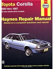 Toyota Corolla RWD 1980 - 1987 Haynes Owners Service & Repair Manual