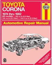 Toyota Corona 1974 - 1982 Haynes Owners Service & Repair Manual