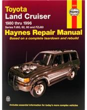 Toyota Land Cruiser (Petrol) 1980 - 1996 Haynes Owners Service & Repair Manual