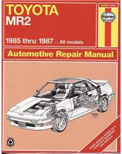 Toyota MR2 1985 - 1987 Haynes Owners Service & Repair Manual