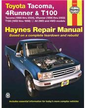 Toyota Tacoma, 4Runner & T100 1993 - 2004 Haynes Owners Service & Repair Manual