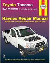 Toyota Tacoma 2005 - 2015 Haynes Owners Service & Repair Manual