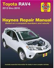 Toyota Rav4 2013 - 2018 Haynes Owners Service & Repair Manual