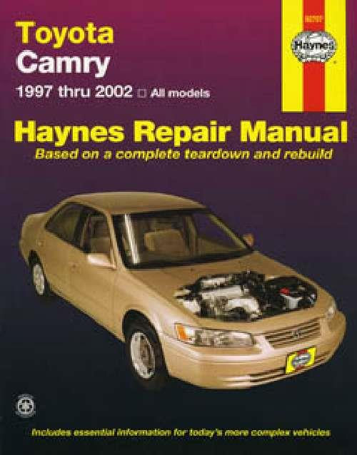Toyota Camry 1997 - 2002 Haynes Owners Service & Repair Manual - Front Cover